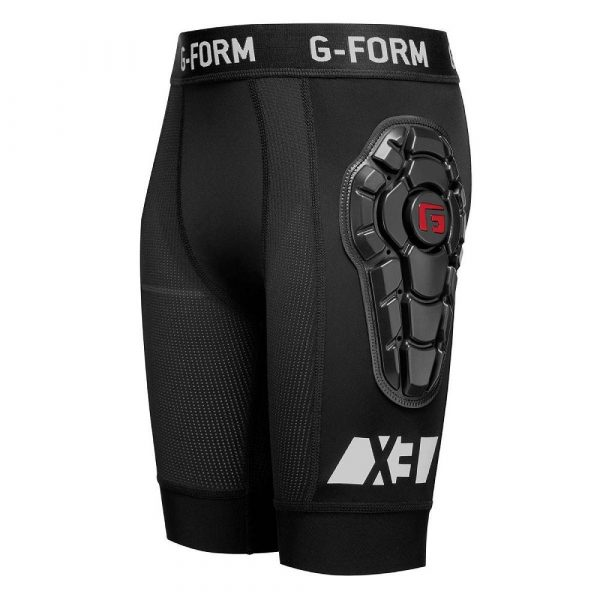 G-Form Youth Pro-X3 Bike Shorts Line Black